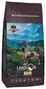 <b>Корм</b> для собак <b>Landor Adult</b> Lamb with Rice с мясом ягненка ...