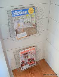 magazine rack wall mount: build a wall mounted magazine rack