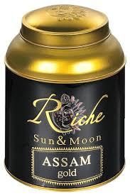 <b>Чай черный Riche Natur</b> Sun&Moon Assam gold — купить по ...
