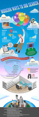 modern ways to job search infographic daily infographic modern ways to job search