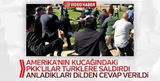 ABD'de PKK yandaşları Türklere saldırdı