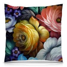 "Подушка 40х40 с полной запечаткой ""Colorfull <b>flowers</b>"" #2013907 ..."