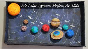 How to make <b>3D</b> Solar System Project for Kids - YouTube
