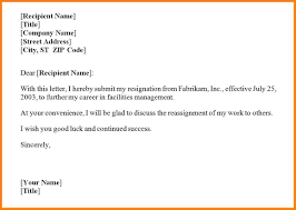 cover letter resignation letter format school teacher 8 format of cover letter resignation letter format job change sample job resignation resignation letter