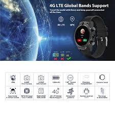 <b>Rogbid Brave 4G</b> LTE Smart Watchs 1.69 Inch 450*450 IPS Screen ...
