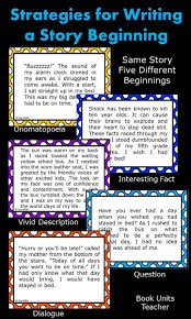 17 best ideas about teaching narrative writing strategies for writing a story beginning lesson activities for teaching students to write a