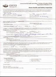 room health and safety inspection form fire room health and safety inspection form 17 2012
