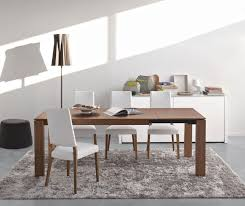 wood extendable dining table walnut modern tables:  cado modern furniture omnia wood modern extendable dining table