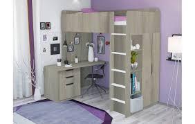 <b>Кровать</b>-<b>чердак Polini kids</b> Simple с письменным столом и ...