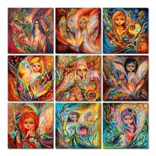 Needlework 5D <b>Diy</b> Diamond Painting Cross <b>Stitch Angel</b> Wall ...