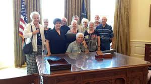 the george w bush presidential library and museum sitting in the oval office replica bush library oval office