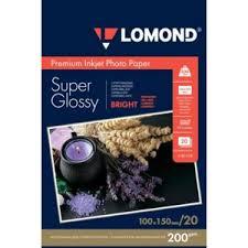 Бумага глянцевая для струйной печати Lomond Premium Super ...
