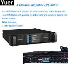 Aliexpress.com : Buy 4 Channel Amplifier FP10000Q Line Array ...