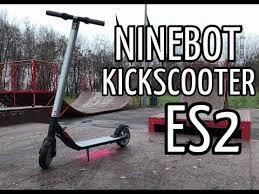 Обзор <b>Электросамоката NINEBOT KICKSCOOTER</b> ES 2 - YouTube