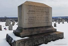 cemetery safari j d rockefeller monument