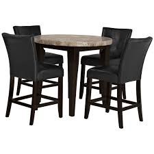 Round Marble Kitchen Table Sets City Furniture Dining Room Furniture Dining Sets