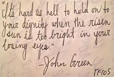 John Green's Quotes on Pinterest | John Green Quotes, John Green ...