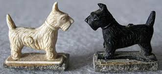 Image result for black and white dog magnets