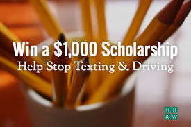 stop texting driving our video scholarship contest
