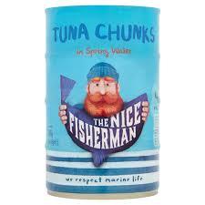 The <b>Nice Fisherman</b> Tuna Chunks in Spring Water 4 x 145g (580g ...
