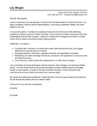 sample cover letter for customer service position work customer service