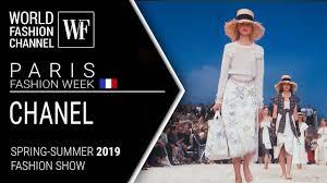 Chanel | Spring-<b>summer 2019</b> Paris <b>fashion</b> week - YouTube