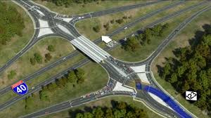 RDU traffic: '<b>Diamond</b>' traffic <b>pattern</b> coming to I-40 Airport Blvd exit ...