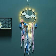 Smoro Light Up Cloud <b>Dream Catcher</b> Handmade Traditional <b>Indian</b> ...
