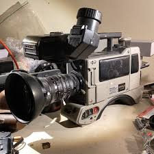 Vintage Panasonic WV-F300 Cle Ccd III with <b>Canon</b> Lens Px12 ...