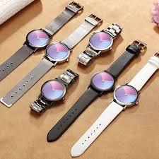 Unique Minimalist <b>Creative Watch</b> Geek Swirl <b>New</b> Fashion Design ...