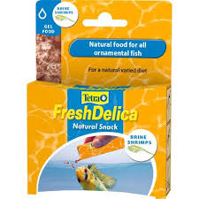 <b>Tetra Fresh Delica Brine Shrimps</b> 48g - 16 x 3g Packs