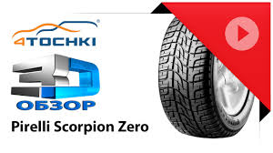 3D-обзор <b>Pirelli Scorpion Zero</b> - 4 точки. Шины и диски 4точки ...
