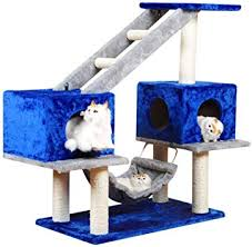 <b>Cat Tree</b> Scratching Post Climbing Activity Centre <b>Sisal</b> Bed ...