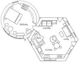 Hexagonal   Round House PlanHexagonal   Round House