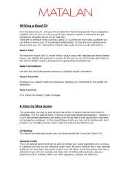 cover letter a good example of a resume a good example of a retail cover letter good cv uk examples writing an effective resume summary easy good tutorial heading and