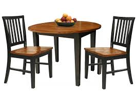 three piece dining set:  pieces dining sets in wooden them with traditional dining chair made of wood and