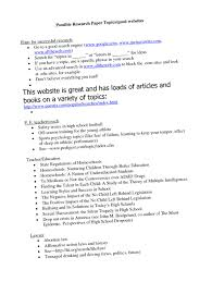 great topics for college research papers top rules for great college essays