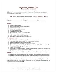 restaurant kitchen forms get organized now workplace wizards view larger image