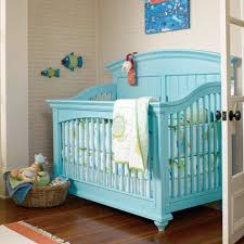 blue crib blue nursery furniture
