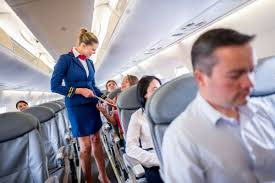 things your flight attendant won t tell you reader s digest sure i don t mind waiting while you scour the seatback pocket