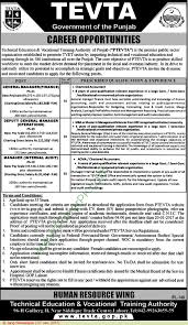 technical education vocational training authority lahore jobs on technical education vocational training authority lahore jobs