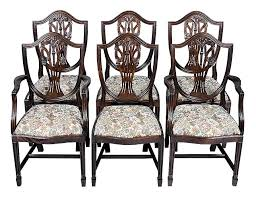 hepplewhite shield dining chairs set: gallery of original hepplewhite tables hepplewhite shield back dining chairs