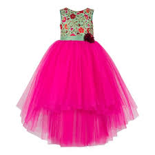 Party Wear <b>Embroidery Summer</b> Latest Trends Dress For Toddler ...