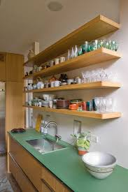 mounted shelves storage kitchen