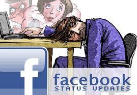 Cara Membuat Status Facebook Kosong
