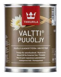 ТИККУРИЛА Валтти (<b>VALTTI PUUOLJY EC</b>) алкидное <b>масло</b> для ...