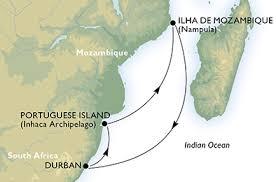 Resultado de imagem para ilha de moçambique recebe cruzeiros