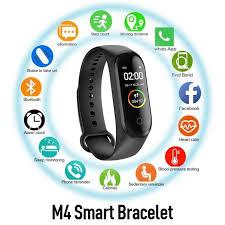 <b>M4 Smart Band</b> Wristband Blood Pressure/Heart Rate Monitor ...