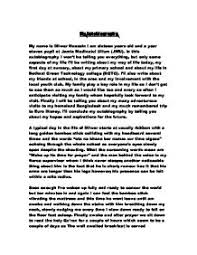 my autobiography essay  siolmyfreeipme my autobiography gcse english marked by teachers commy autobiography