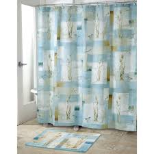 glass bed bath accessories image of blue shower curtain sets